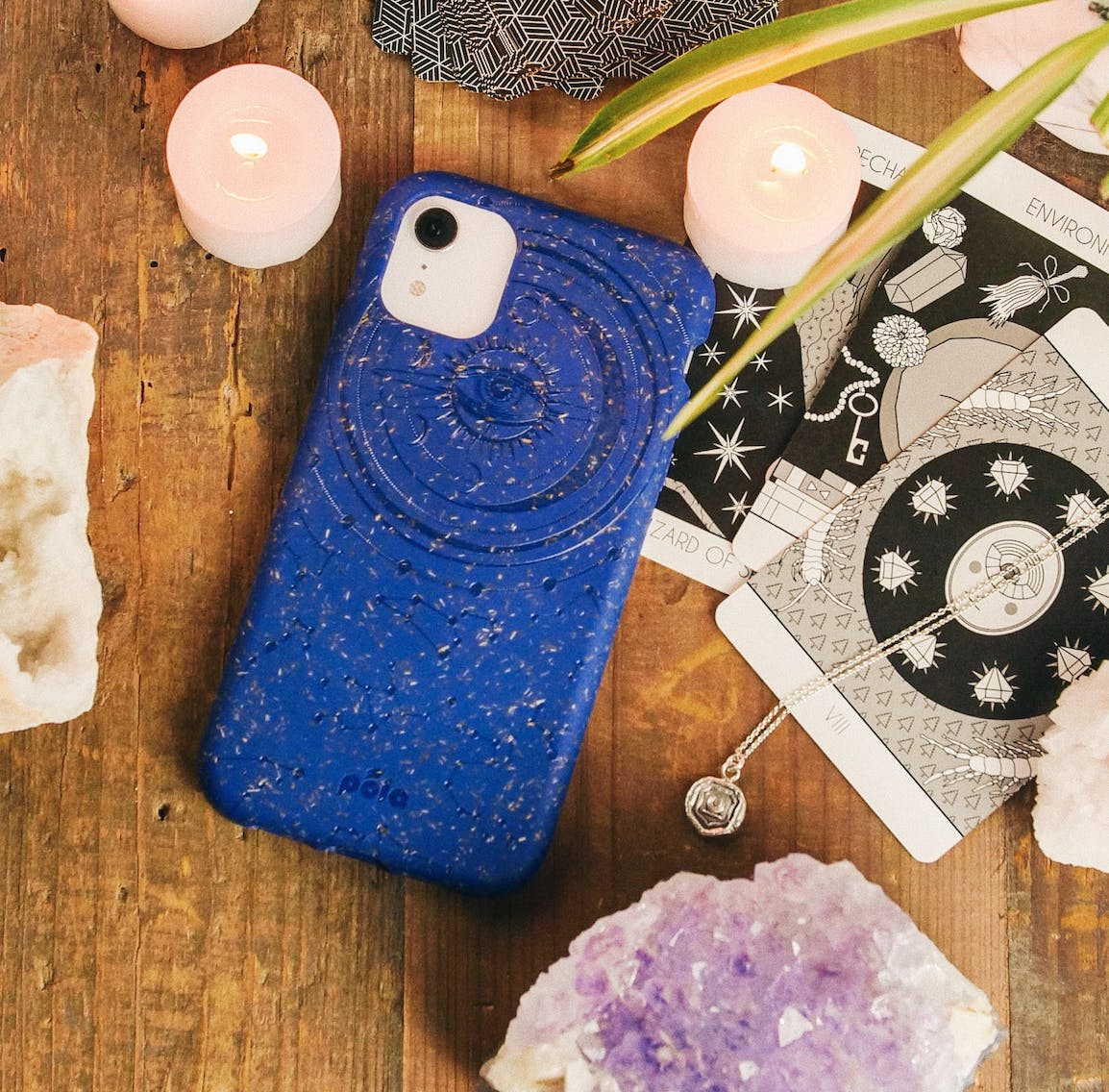 Retrograde biodegradable, eco-friendly Pela phone case