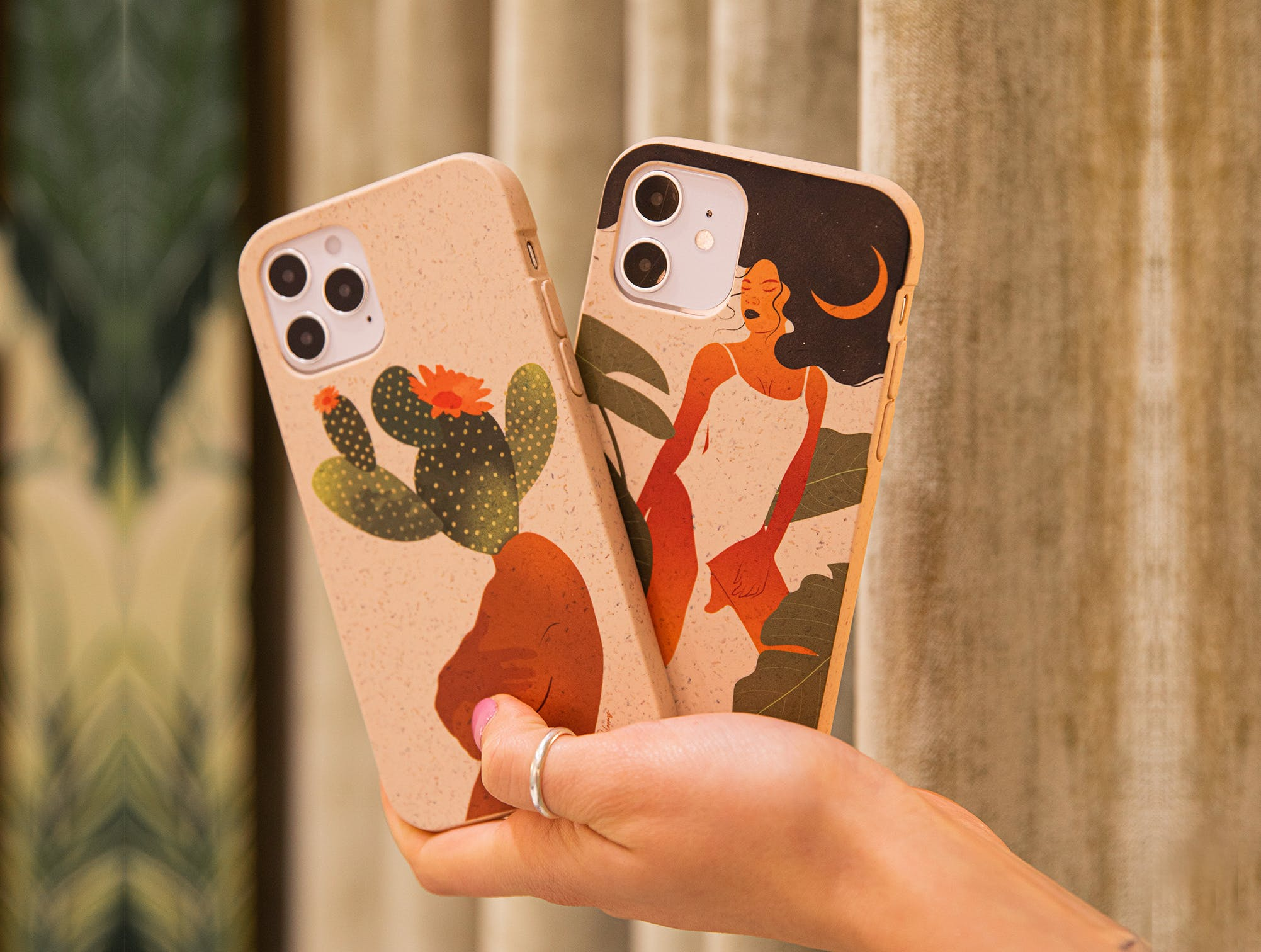 PerlyBlooms Pela Case biodegradable eco-friendly phone cases