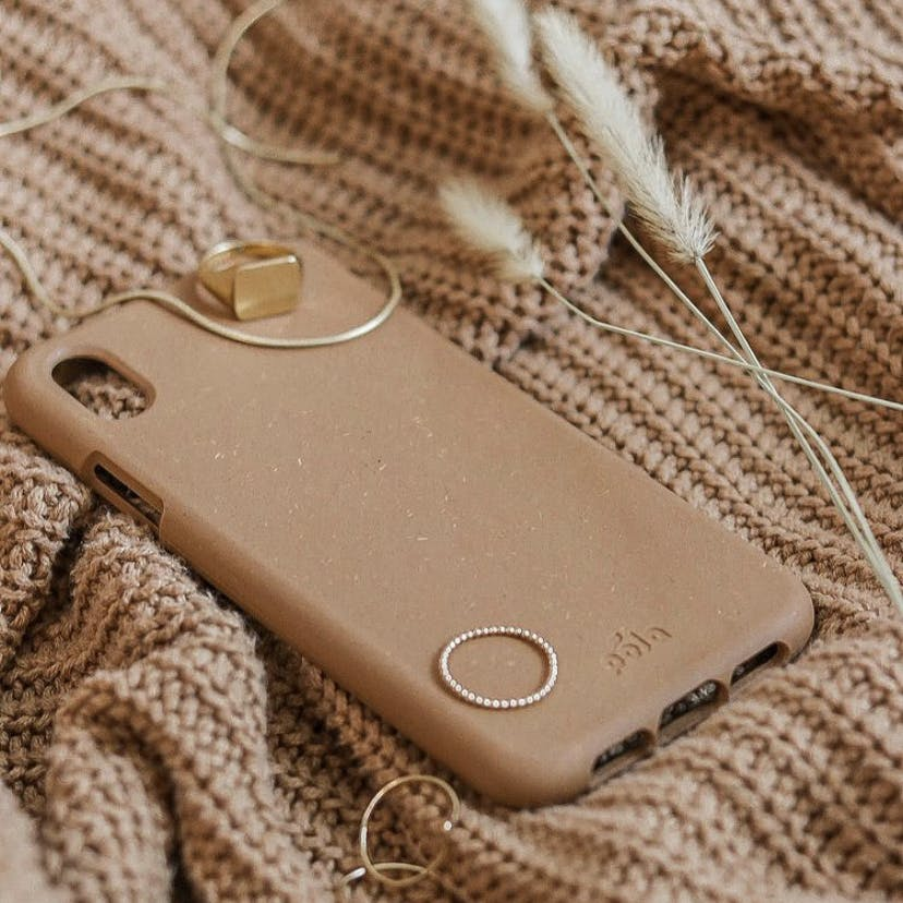 Biodegradable eco-friendly Pela phone case