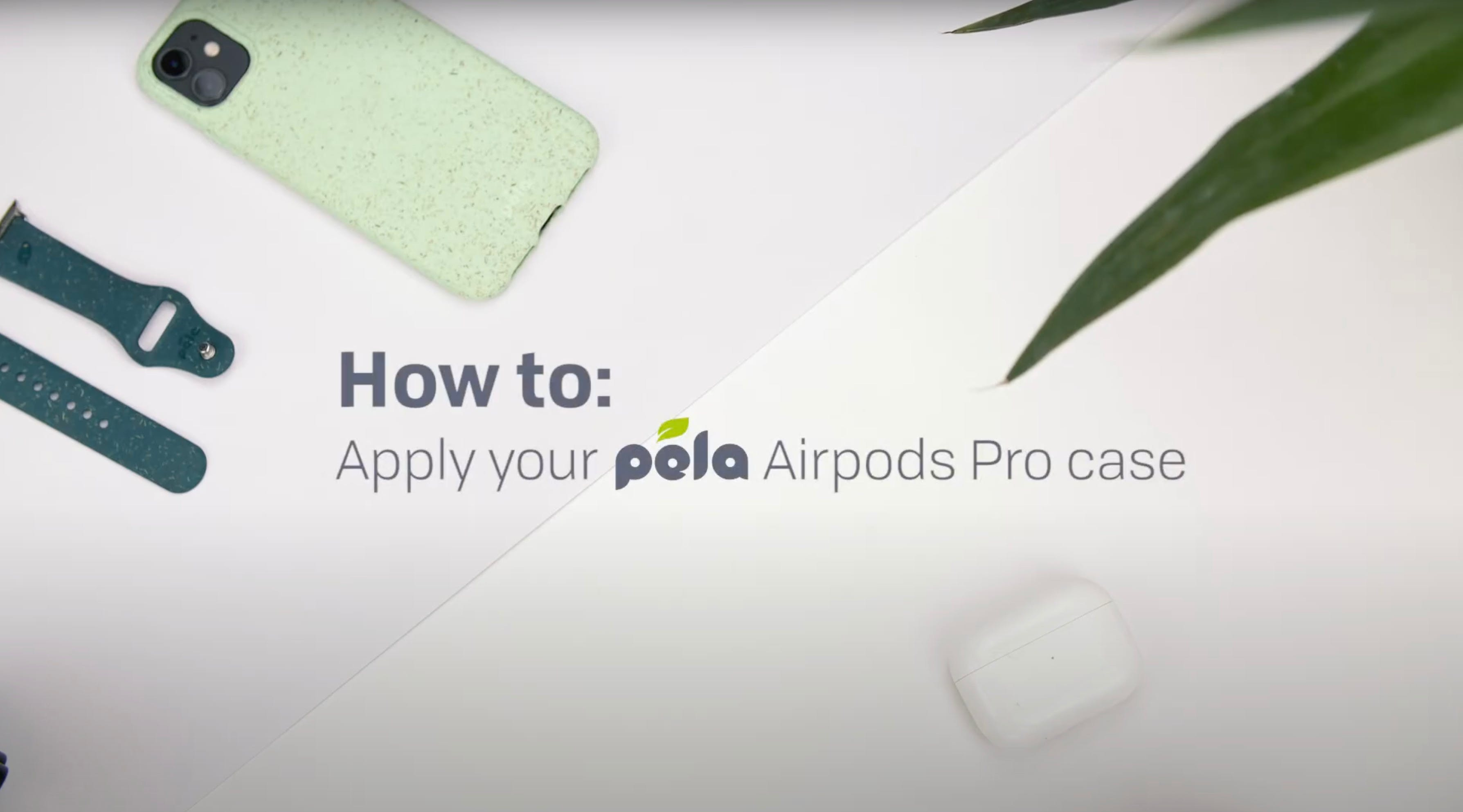 How to apply your AirPods Pro case