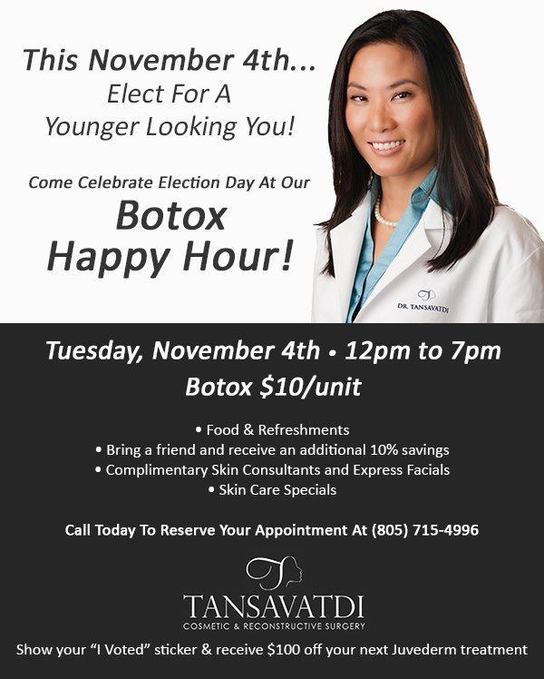 Botox Happy Hour! November 4, 2014