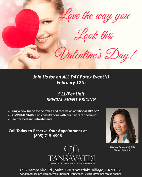 Valentine's Botox Day Event! (Feb 12th)