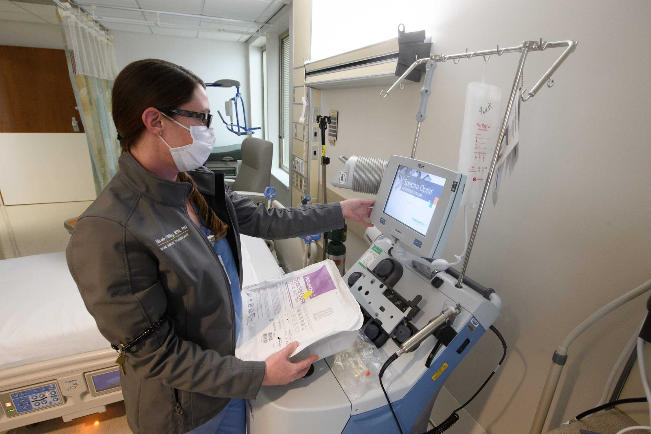 Extracorporeal Photopheresis Therapy