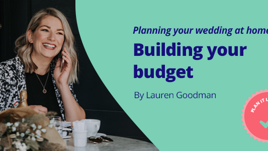 Featured image for Planning your wedding: building your budget