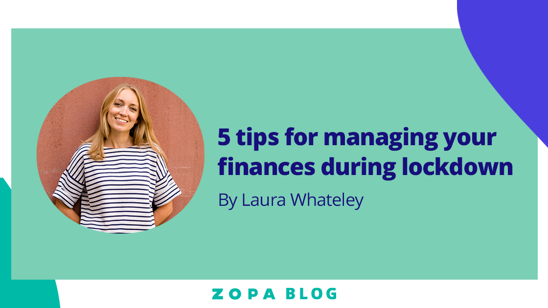Featured image for 5 tips for managing your finances during lockdown