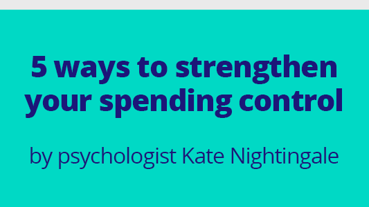 Featured image for 5 ways to strengthen your spending control
