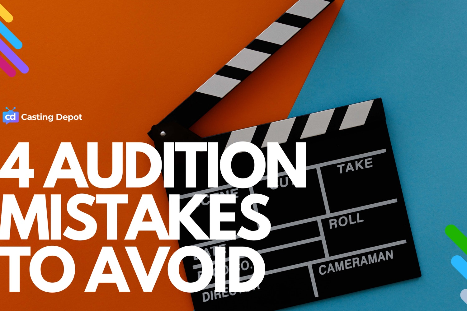 Cover Image for The 4 Biggest Mistakes People Make When Auditioning