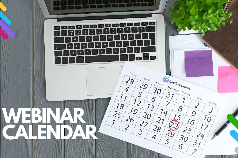 Cover Image for Casting Depot Webinar Calendar 📆