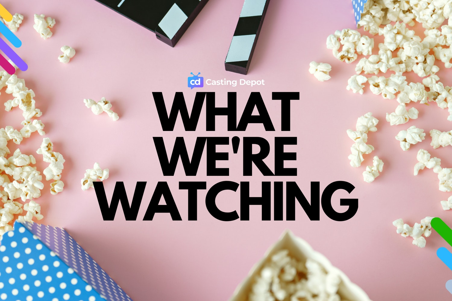 Cover Image for What We're Watching in March