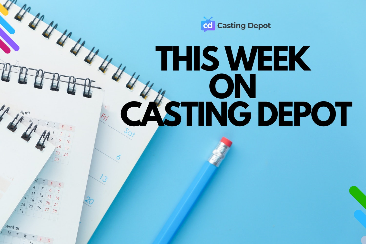 Cover Image for New Gigs on Casting Depot - 9/13