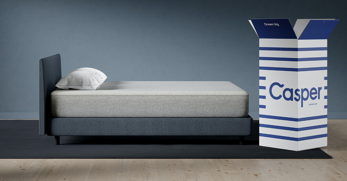 Casper Bed and Mattress with Box