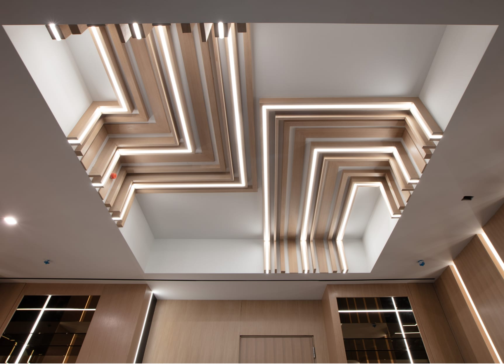 Ceiling - elegant and modern.