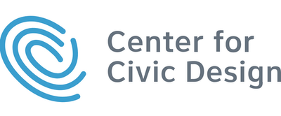 Center for Civic Design logo.