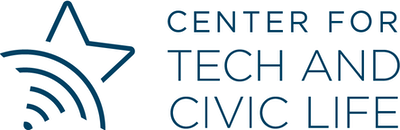 Center for Tech and Civic Life logo.