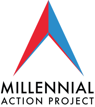 Millennial Action Project logo.