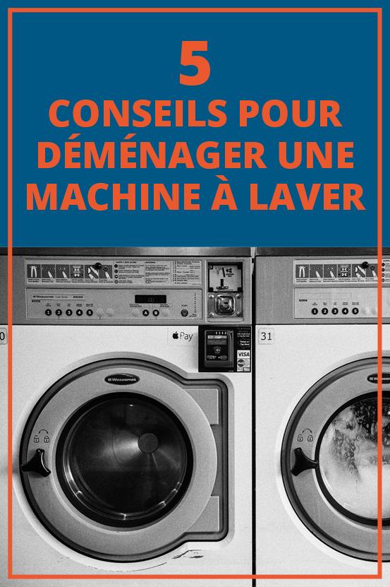 5 #conseils pour #déménager une machine à laver ! Partagez cette illustration si vous la trouvez originale ! #conseildéménagement #déménagement