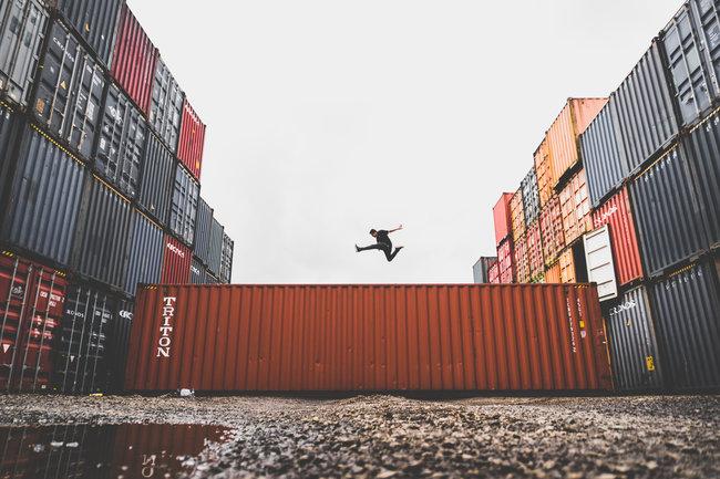 Container pour déménagement SNCF