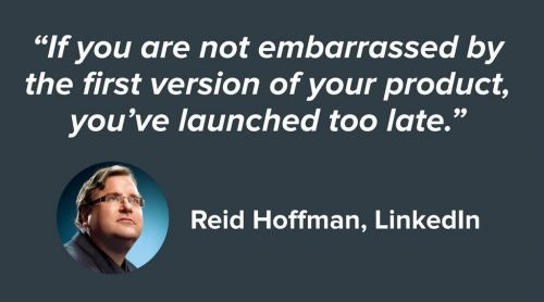 Why launch an unfinished product?