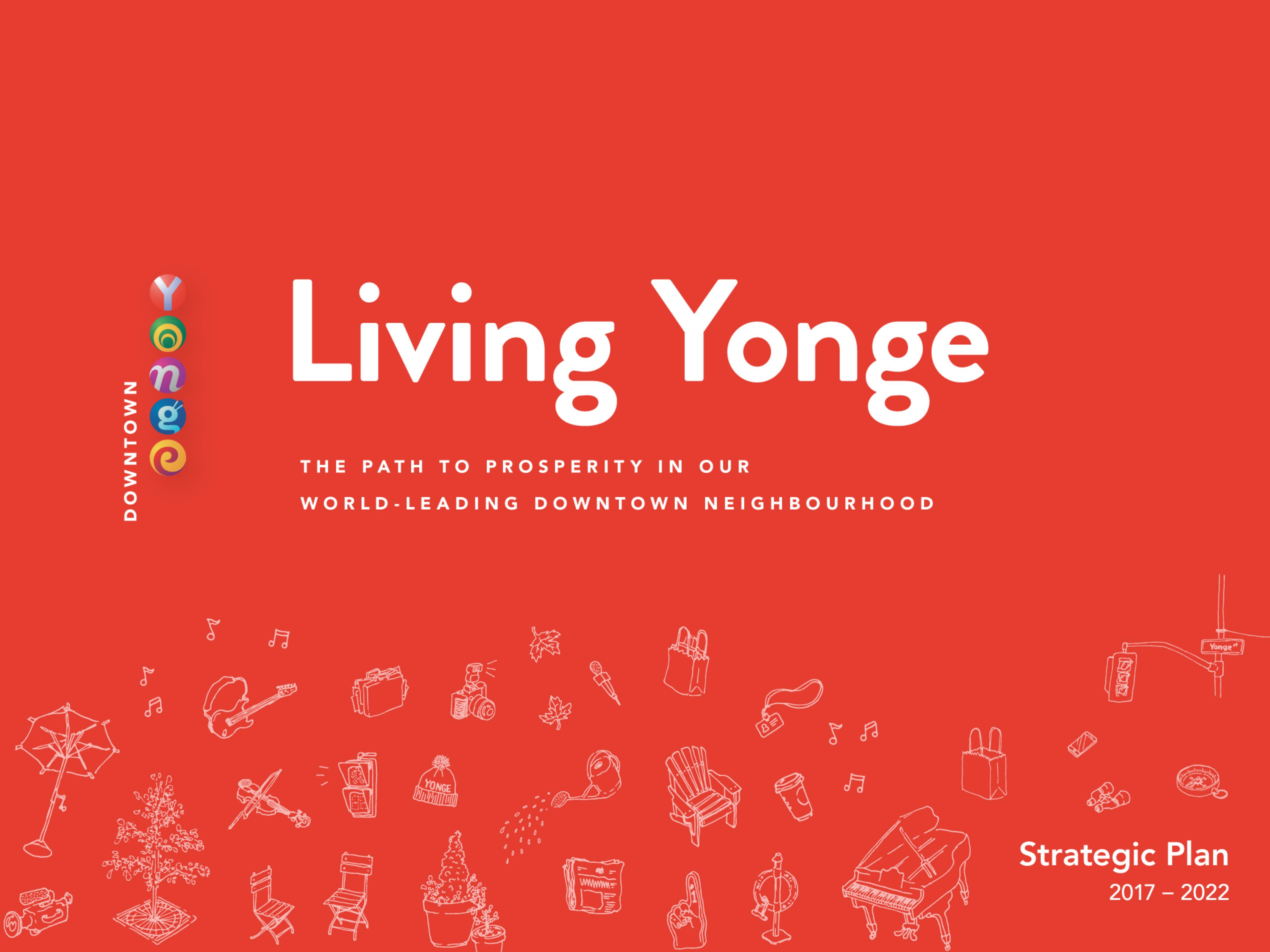 Living Yonge Strategic Plan front cover