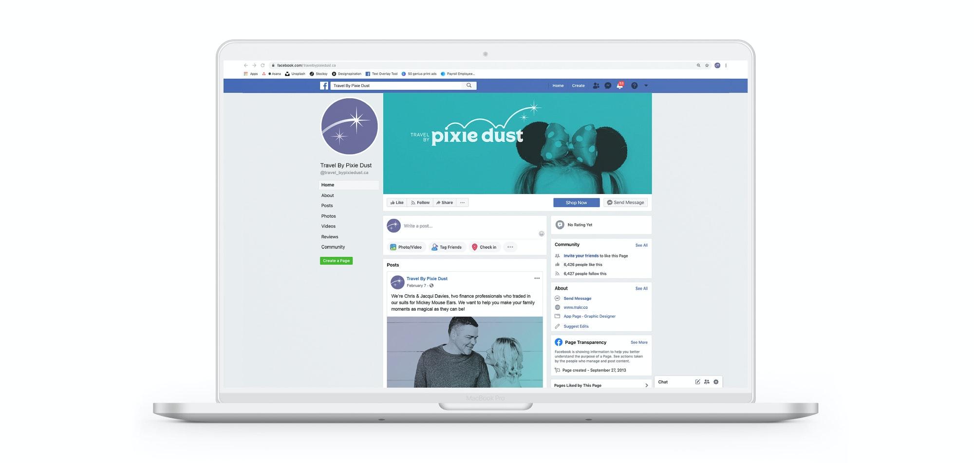 TBPD Facebook page design