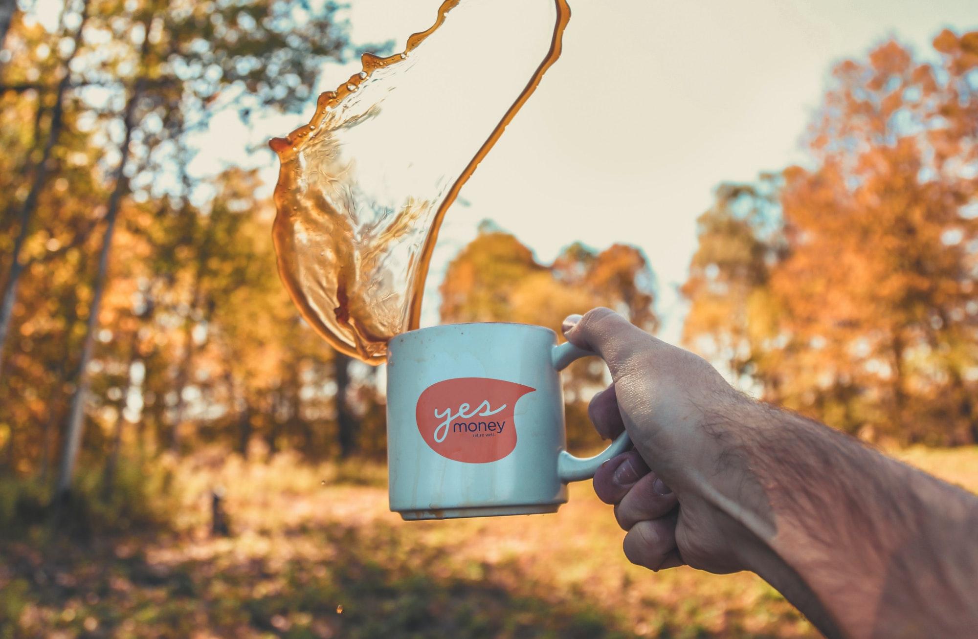 YESmoney mug
