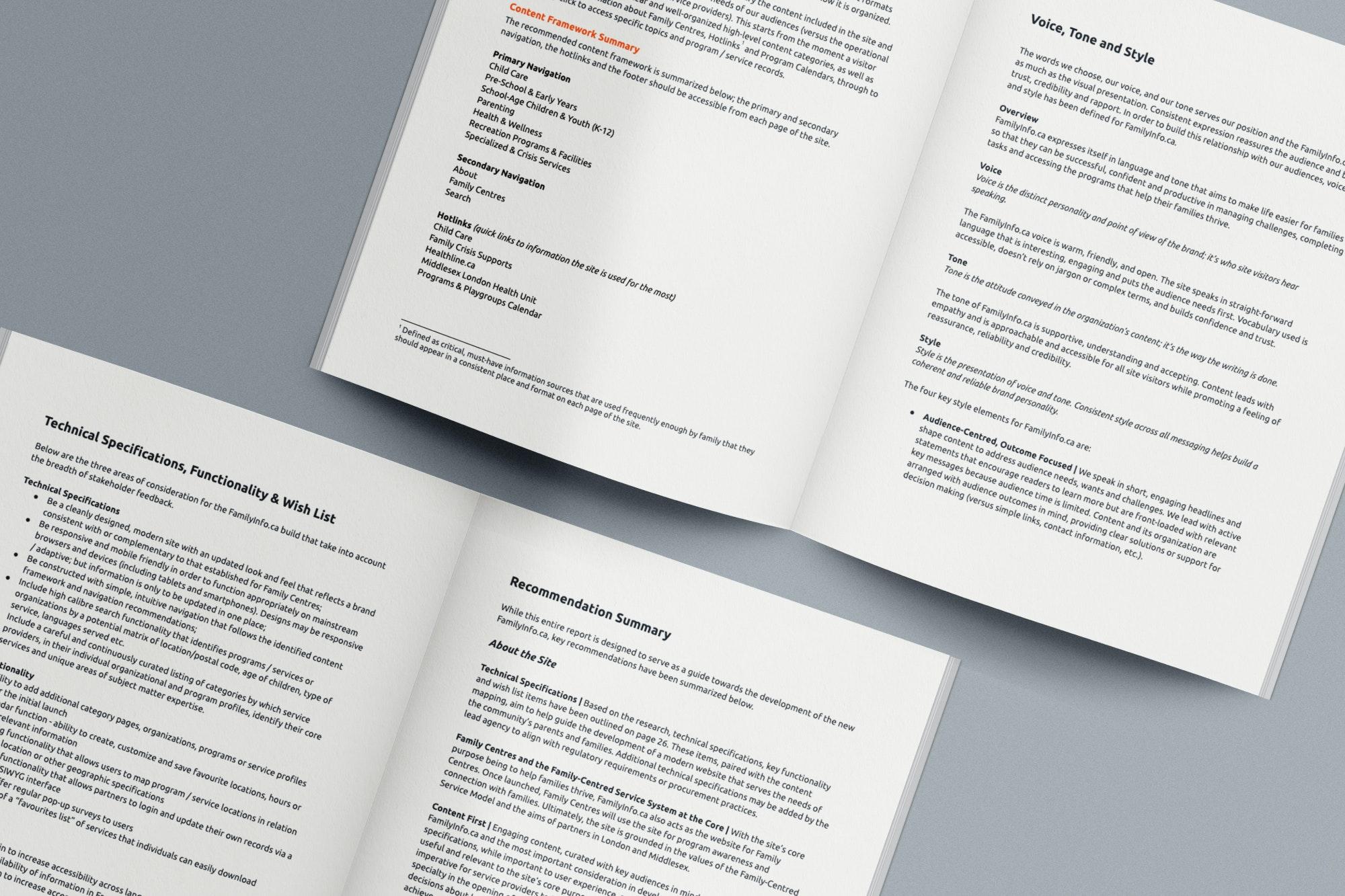 FamilyInfo.ca strategic roadmap document