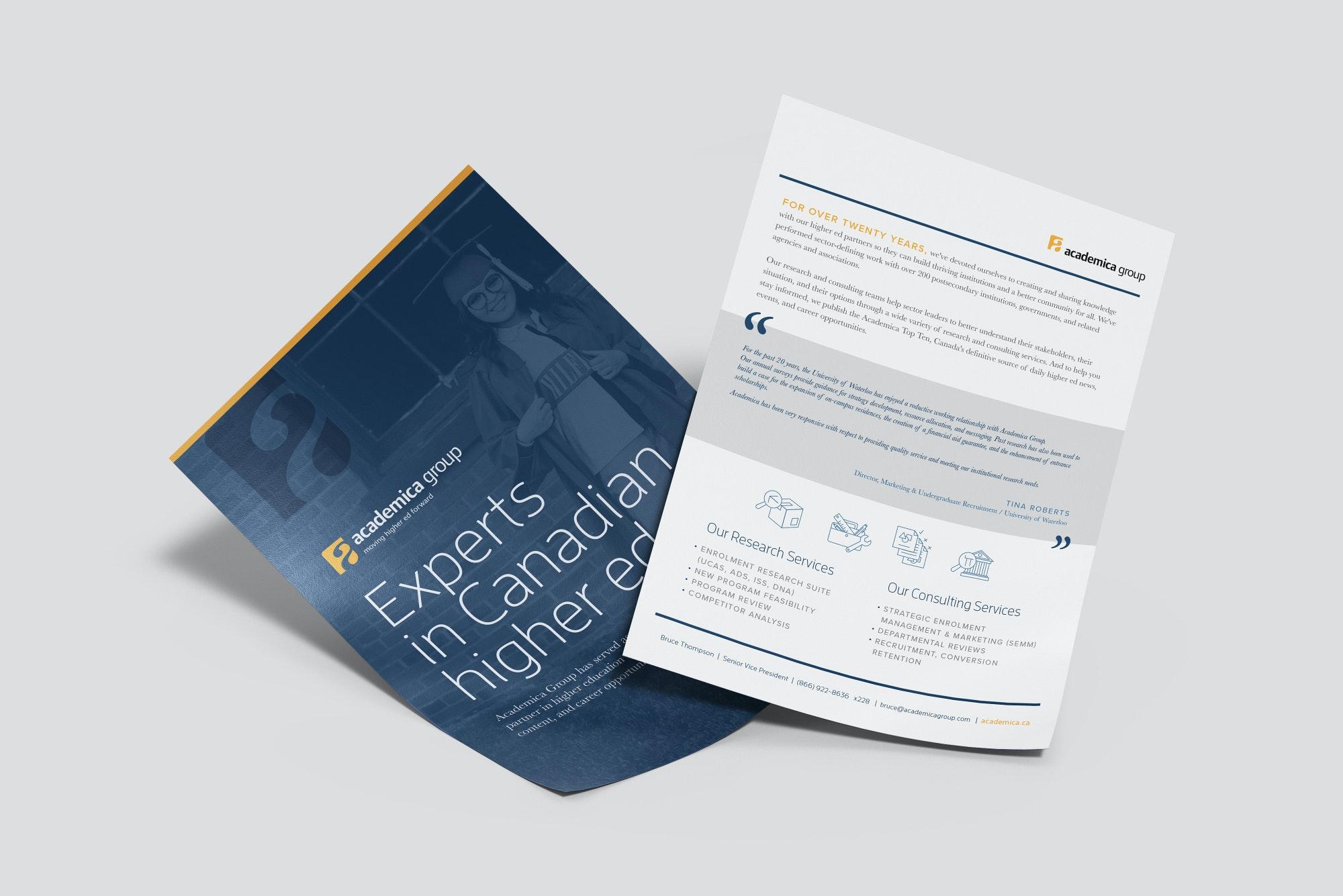 Academica print documents