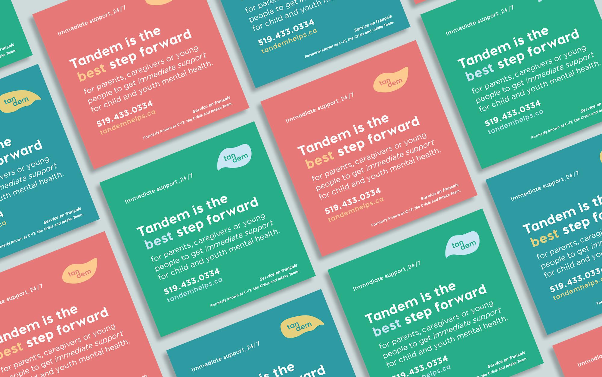 Tear away information cards