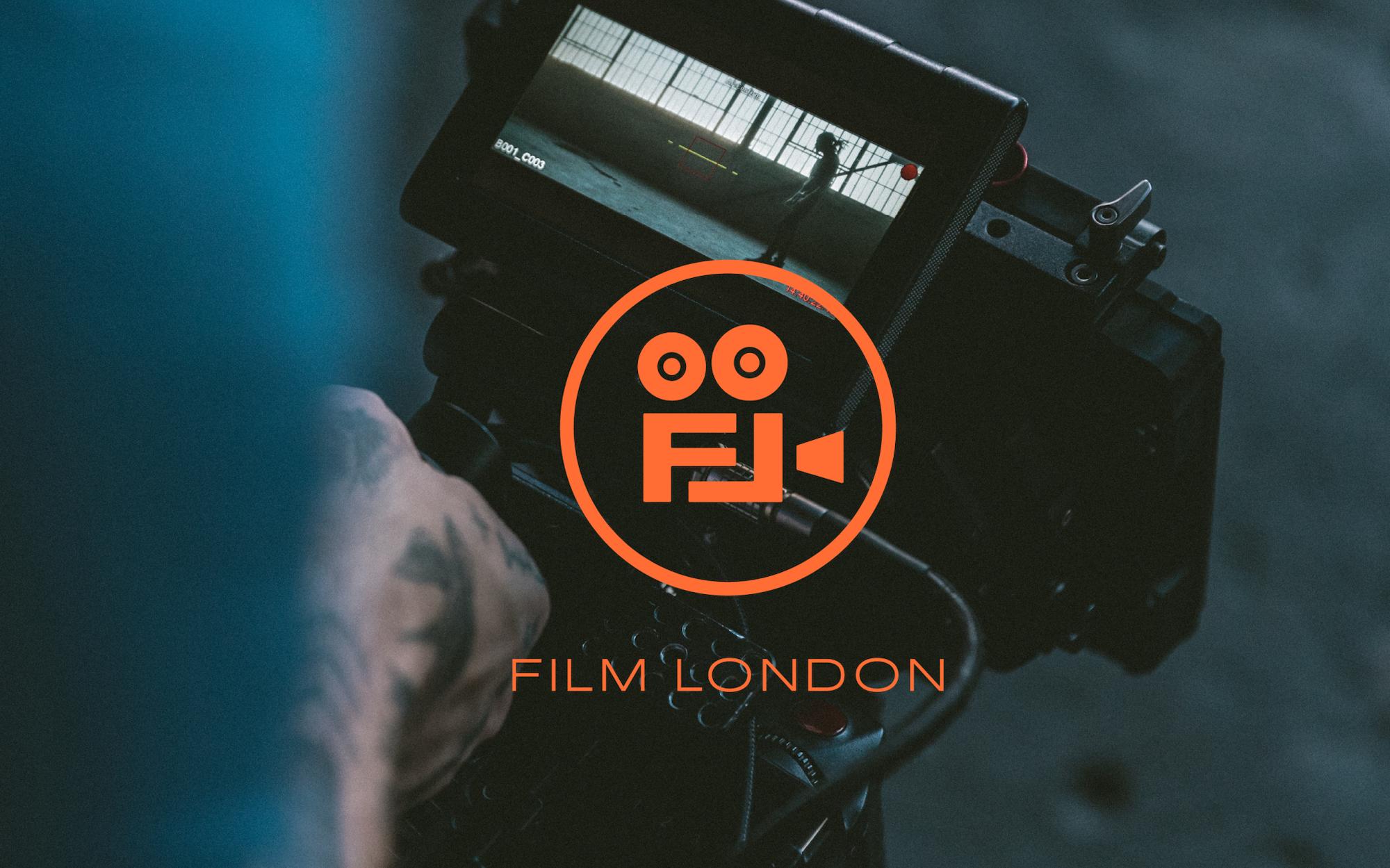 orange Film London logo on an image of a camera
