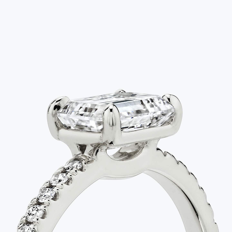 Closeup image of Signature Prong Engagement Ring