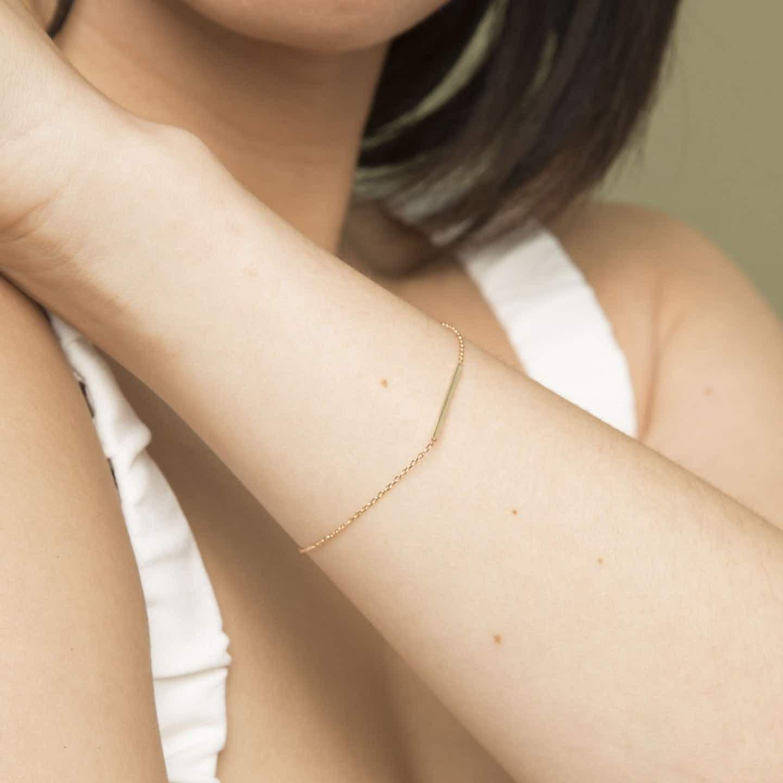 Closeup image of Line Bracelet