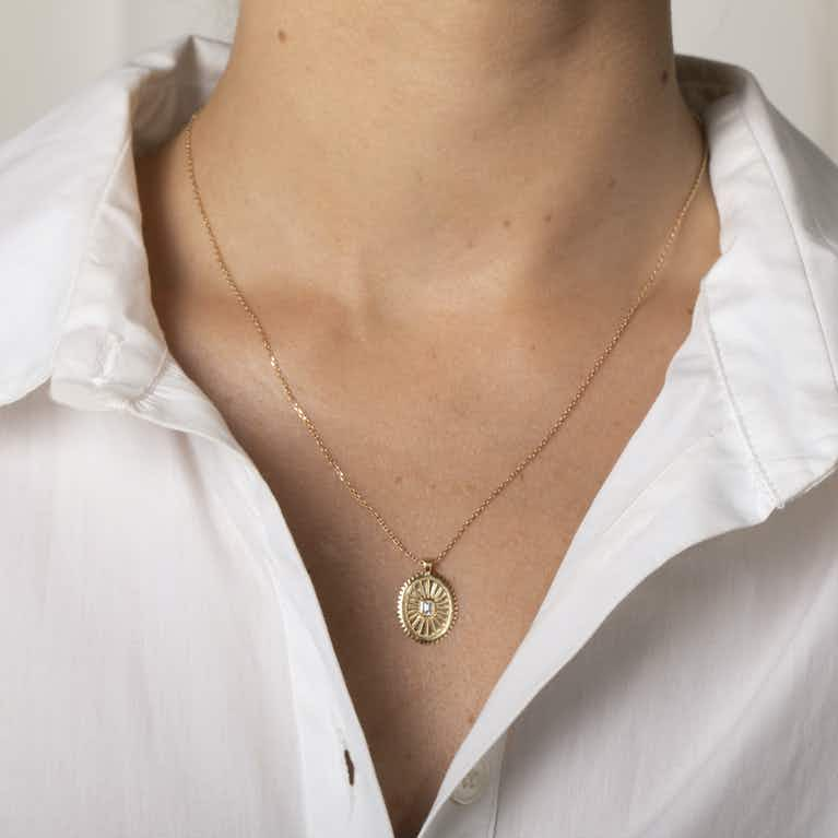 Closeup image of Inner Light Medallion
