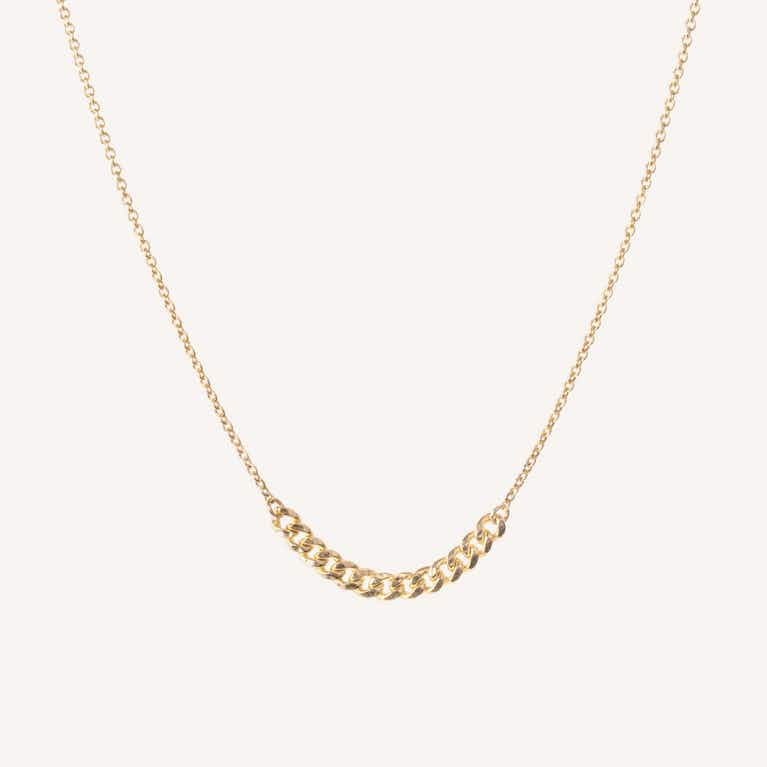 Closeup image of Interlink Necklace