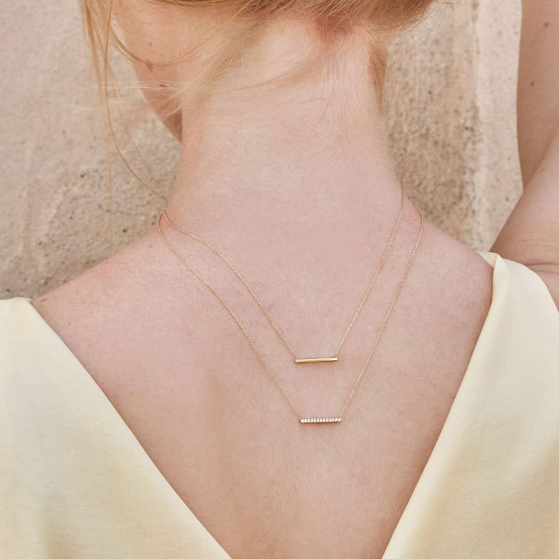 Closeup image of Line Necklace