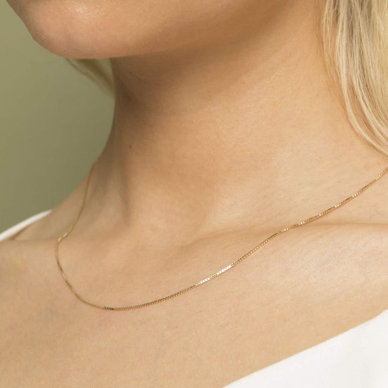 Closeup image of Silk Box Chain