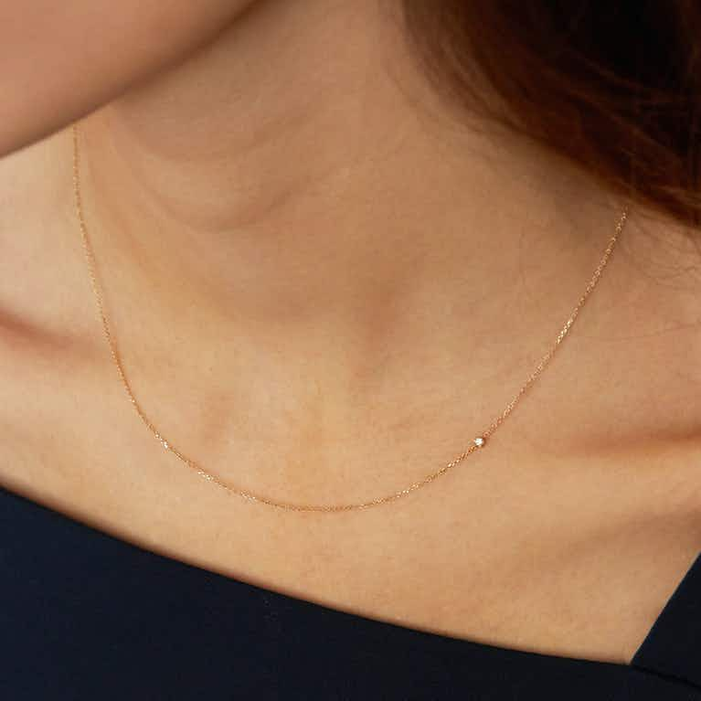 Closeup image of Tiny Necklace