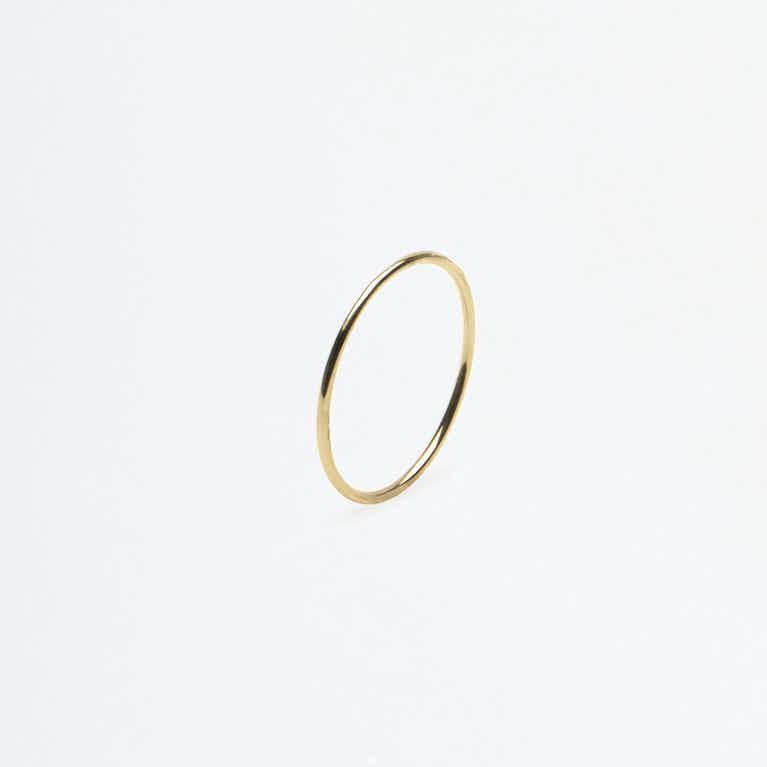 Closeup image of Skinny Stacking Ring