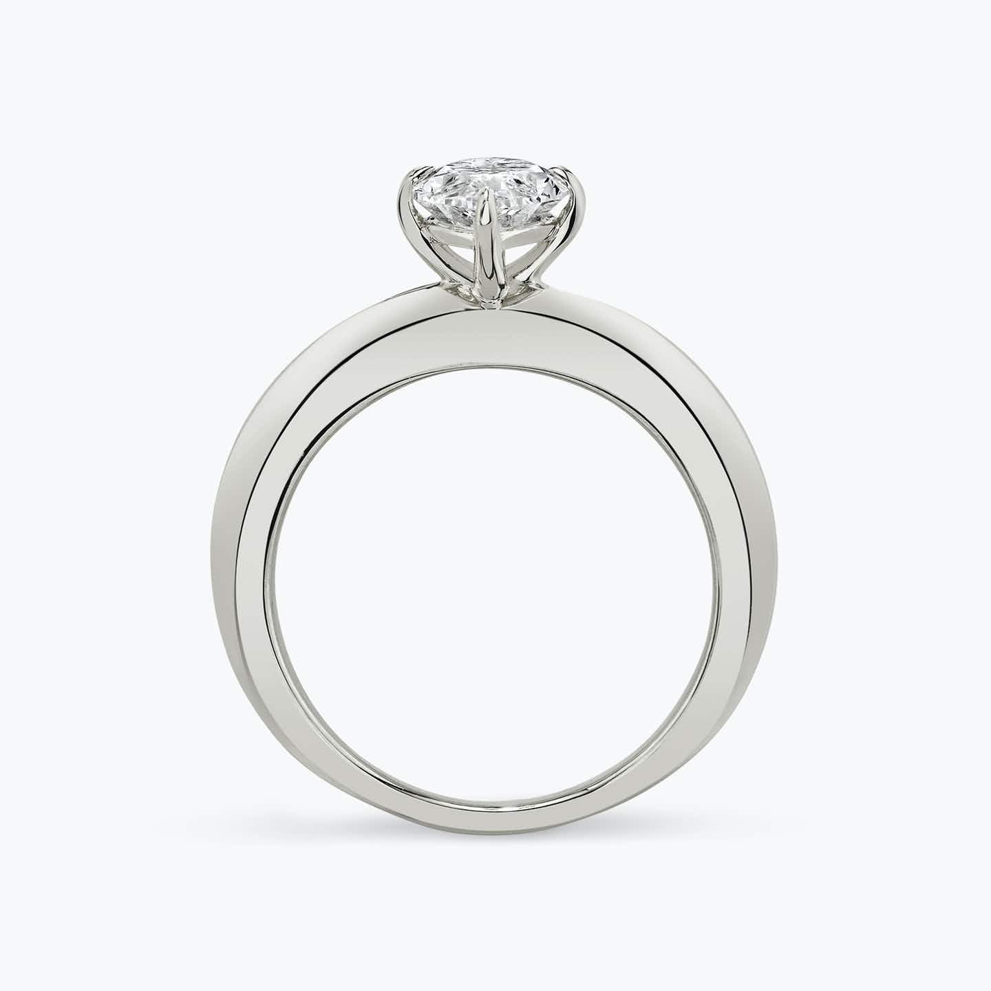 Closeup image of Curator Engagement Ring