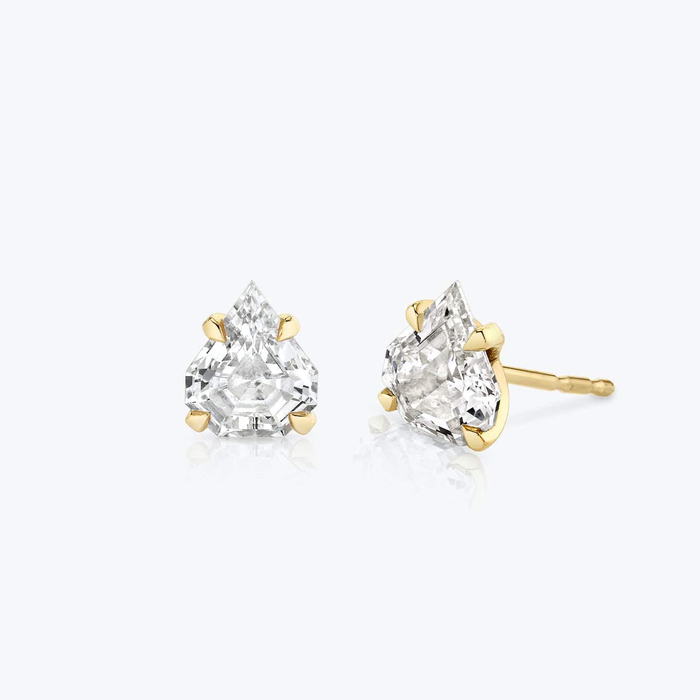 Closeup image of Iconic Diamond Studs