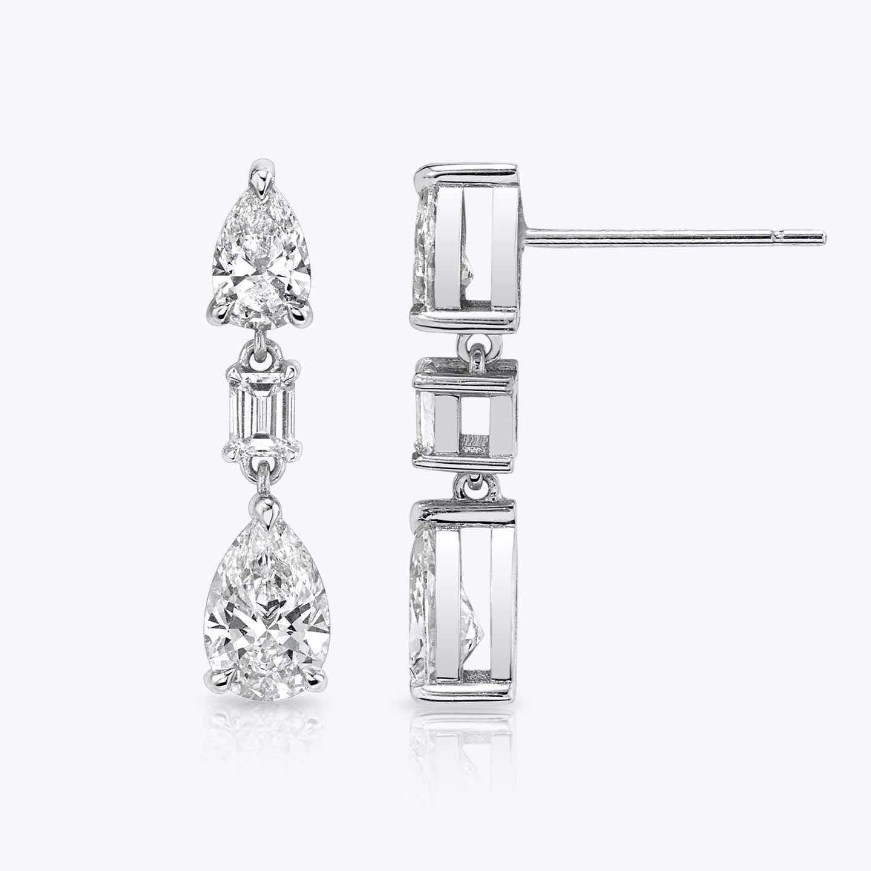 Closeup image of Del Sol Drop Earrings