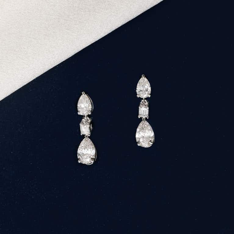Closeup image of Del Sol Drop Earring