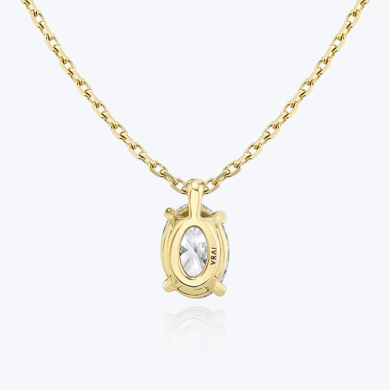 Closeup image of Solitaire Diamond Pendant