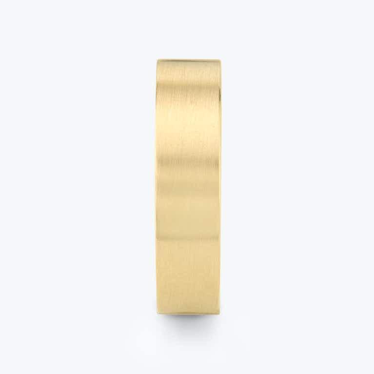 Closeup image of Brushed Flat Band