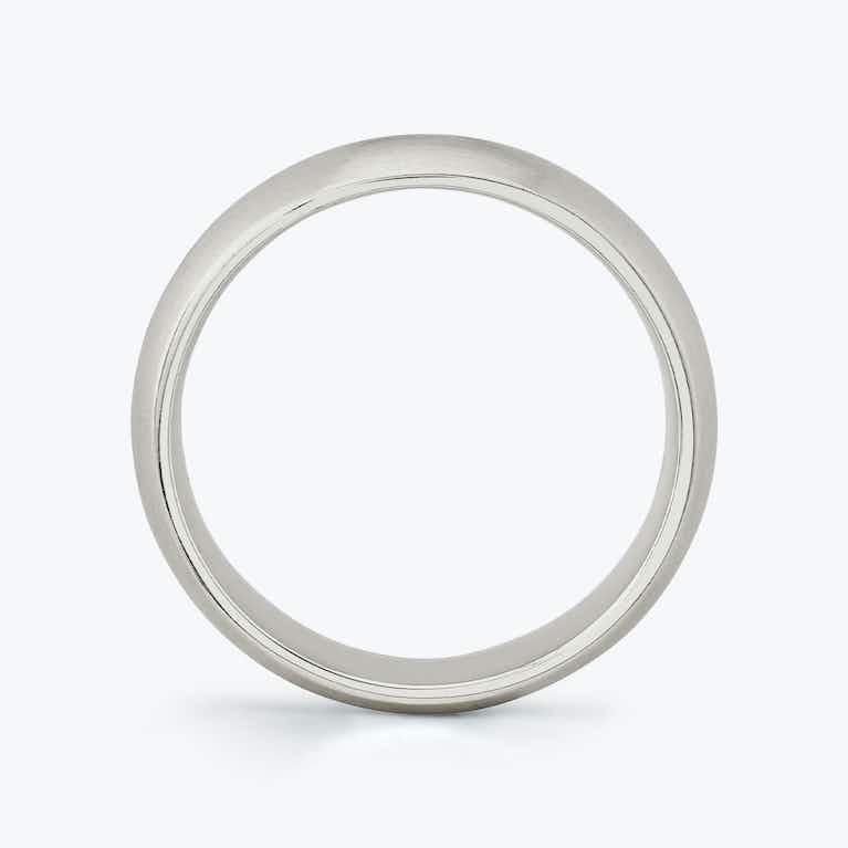Closeup image of Brushed Round Band