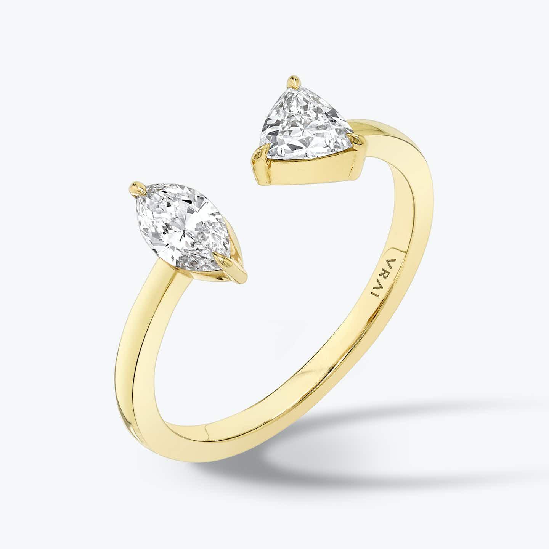 Closeup image of Mixed Cuff Ring