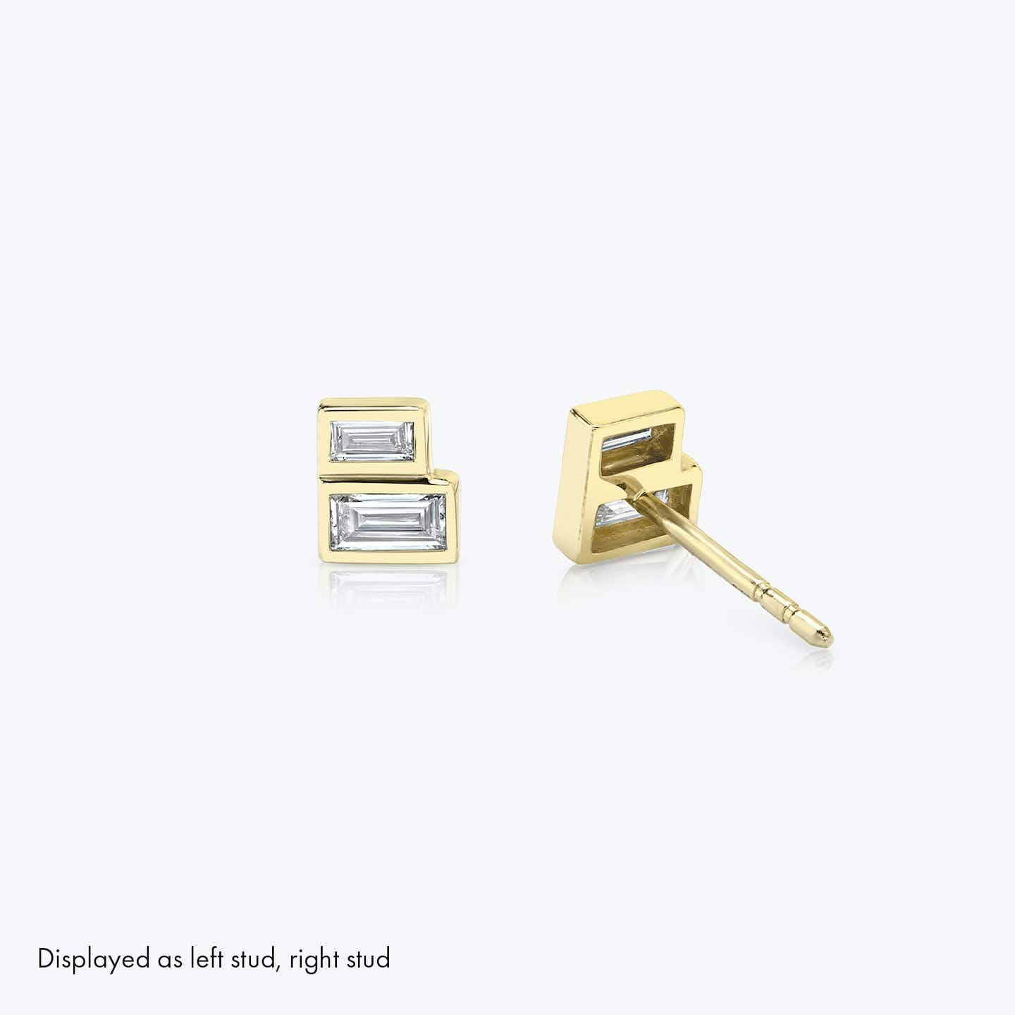 Closeup image of Stacked Earring