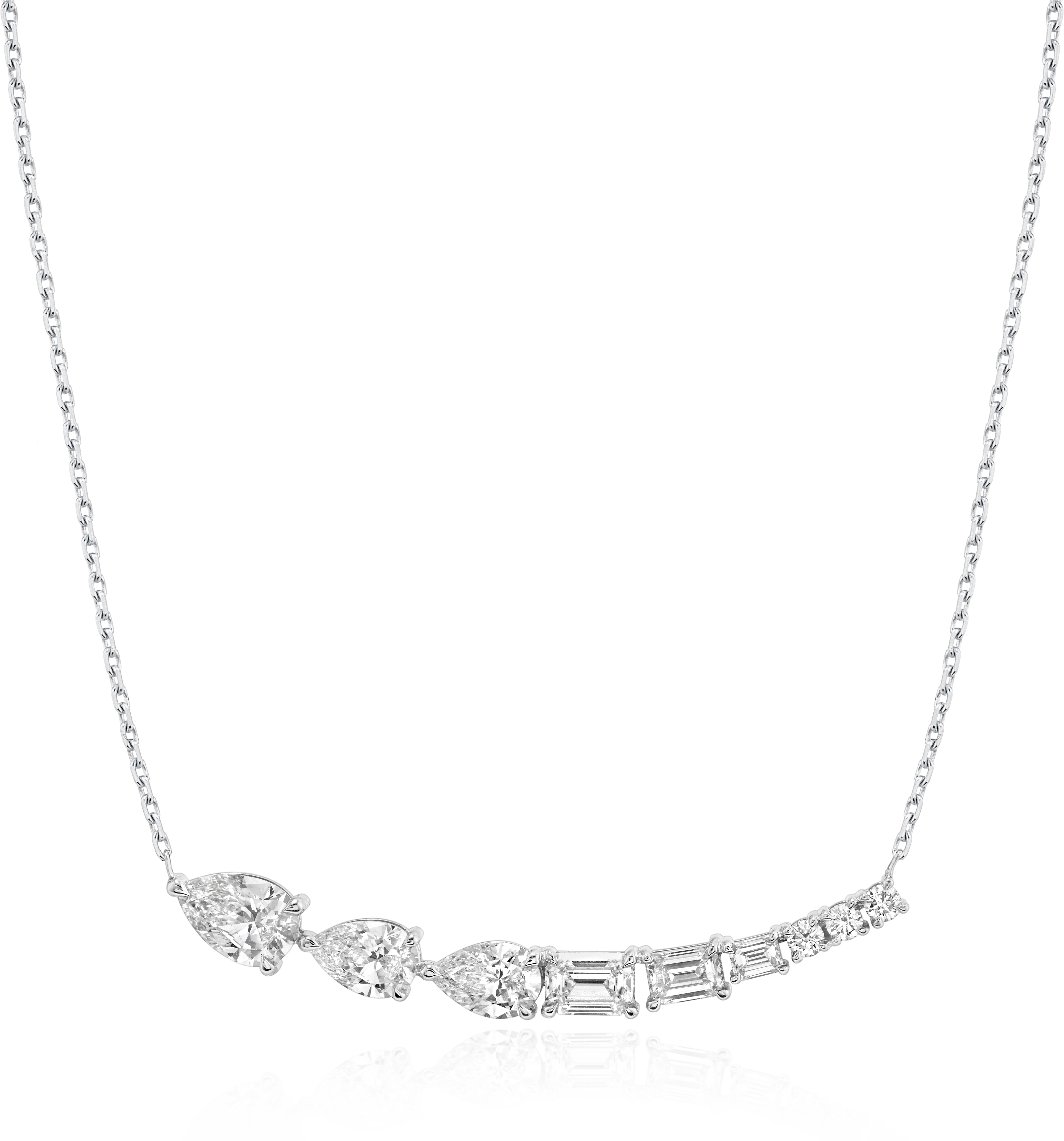 Neptune Floating Necklace