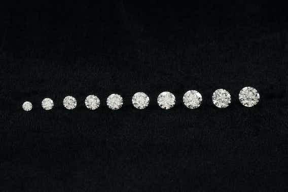 Diamanten erklärt: Karat