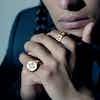 Closeup image of Compass Ring