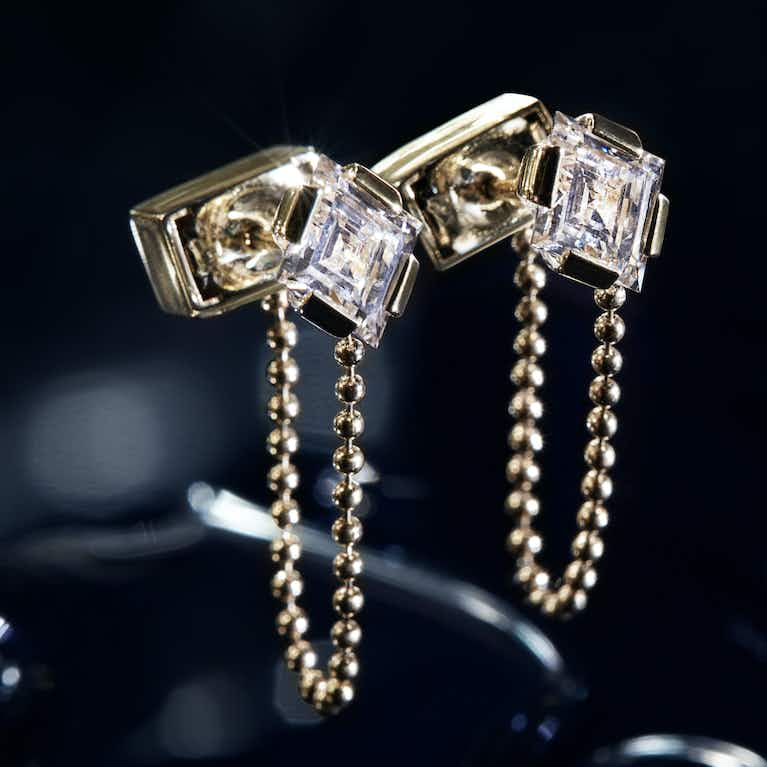 Closeup image of Connected Earring